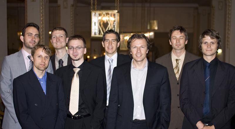 IDIOM Team at the Award Ceremony